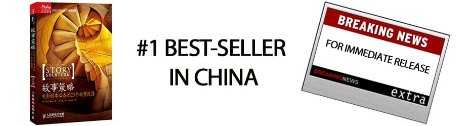 THE STORY SOLUTION NOW A BEST-SELLER IN CHINA