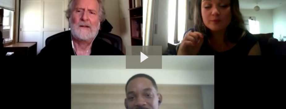 Will Smith talks Story with Michael Hauge, and Laura Leigh Clarke