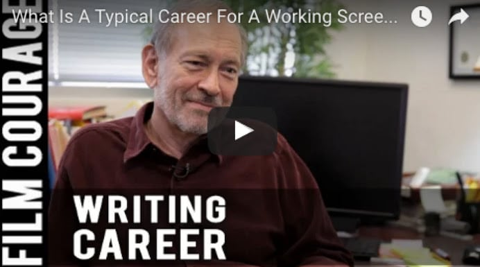 What Is A Typical Career For A Working Screenwriter In Hollywood? by Eric Edson
