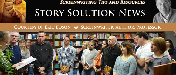 FOR IMMEDIATE RELEASE – Eric Edson's 5 Favorite Online Screenplay Libraries